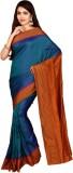 Indian Silks Checkered Kanjivaram Pure S...