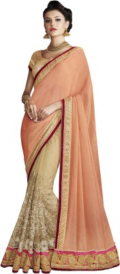 Chigy Whigy Embroidered Fashion Silk Saree(Multicolor) at flipkart