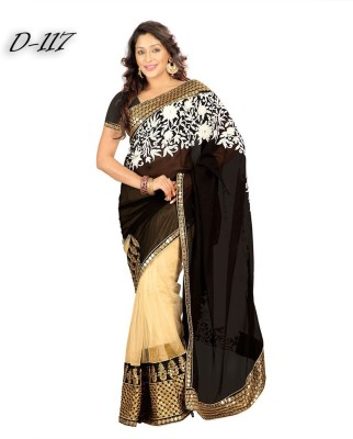 Beauty Choice Embriodered Daily Wear Georgette Sari
