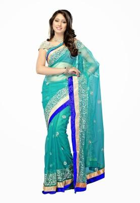 ShoppingSarees Self Design Bollywood Net Sari