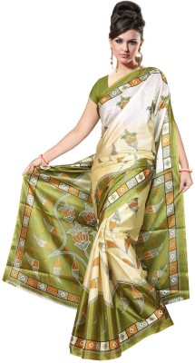 Mahaprabhu Printed Daily Wear Art Silk Sari