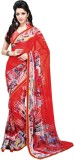 Hautewagon Printed Fashion Chiffon Saree...