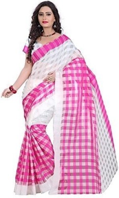 Alankar Creations Printed Bollywood Cotton Sari