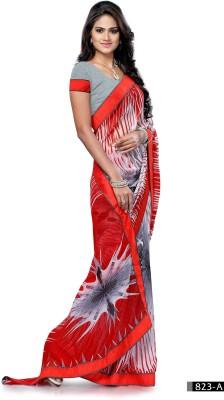 Craze N Demand Printed Fashion Chiffon Sari
