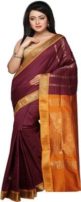 Pratami Self Design Chettinadu Handloom Art Silk Sari