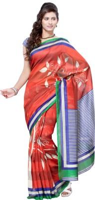 Parchayee Floral Print Fashion Net Sari