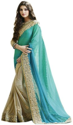 Rassam Embriodered Bollywood Chiffon Sari