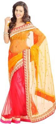 Stylo Designer Self Design Fashion Net Sari