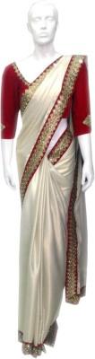 sai collection Embriodered Fashion Cotton Sari