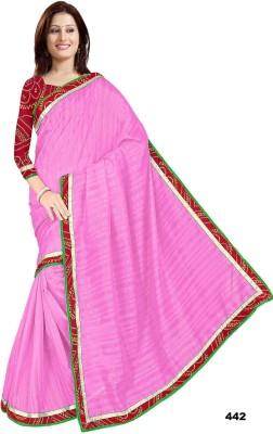 shobhit Self Design Bhagalpuri Raw Silk Sari