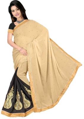 Anshika Lifestyle Embriodered Daily Wear Georgette Sari