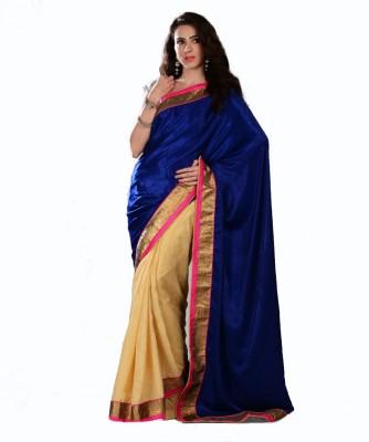 Aarohii Solid Bollywood Crepe Sari