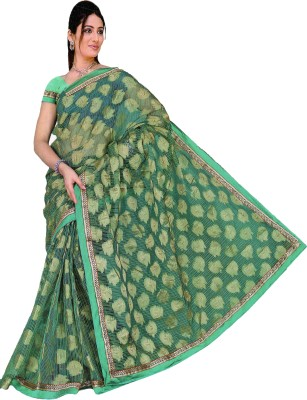 anucrit saree Embriodered Fashion Georgette Sari