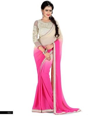 Ramkrishna Enterprise Self Design Fashion Georgette Sari
