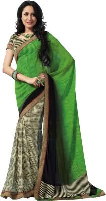 Vipul Embellished, Embriodered Daily Wear Georgette Sari