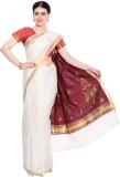 Darps Self Design Balarampuram Cotton Sa...
