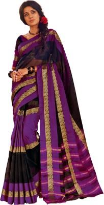 Signature Fashion Printed Bollywood Silk Cotton Blend Sari