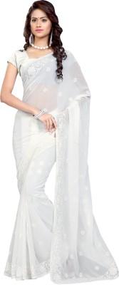 Mrsaree Embriodered Daily Wear Georgette Sari