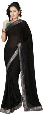 RA Self Design Bollywood Satin Sari