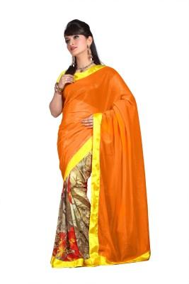 Anerra Printed Fashion Handloom Chiffon Sari