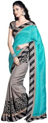 Sumit Self Design Bollywood Art Silk Sari