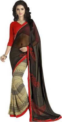 Myntas DXL Graphic Print Bollywood Georgette Sari