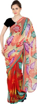 Aaboli Printed Fashion Chiffon Sari