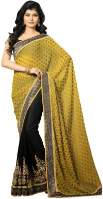 Pavitraa Embriodered Fashion Brocade Sari