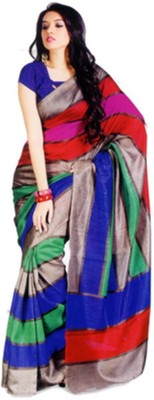7ELEVEN Printed Fashion Georgette Sari