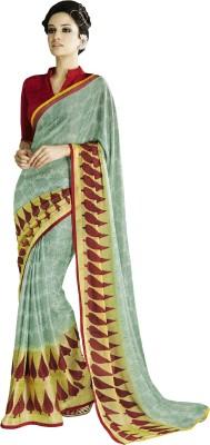 Stay Blessed Printed Fashion Brasso Sari