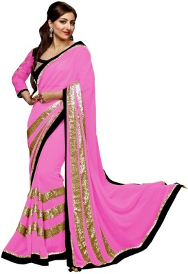 Trendz Embriodered Fashion Georgette Sari