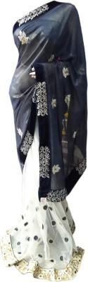 Desiner Embriodered Daily Wear Net Sari