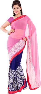 Sinjara Printed Fashion Georgette Sari