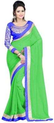 Shoppershopee Self Design Fashion Georgette Sari