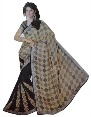 MD Soft Printed Daily Wear Georgette Sari