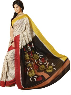 Abida Printed Daily Wear Art Silk Sari