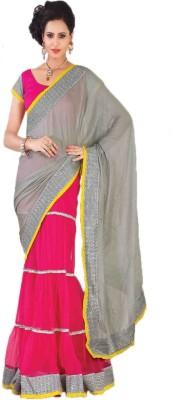 Anushree Self Design Lehenga Saree Net Sari