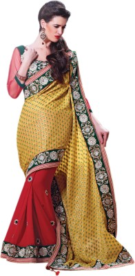 Allol Embriodered Bollywood Viscose Sari