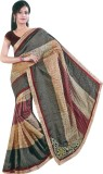 Aryahi Checkered Fashion Kota Saree (Bei...
