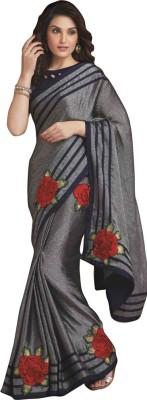 Laxmipati Embriodered Bollywood Satin Sari