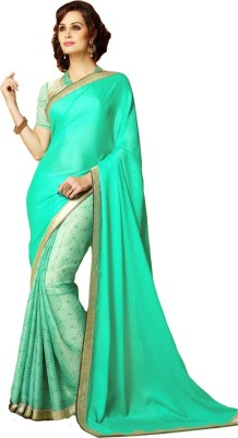 Rometic Fashion Printed Fashion Chiffon Sari