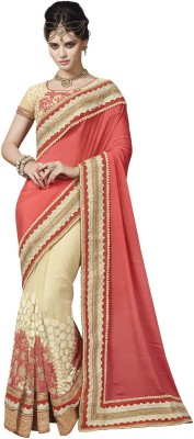 Indian Women By Bahubali Embellished Fashion Silk Sari