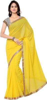 Today Deal Embriodered Fashion Chiffon Sari