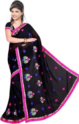 Anshika Lifestyle Embriodered Bollywood Georgette Sari