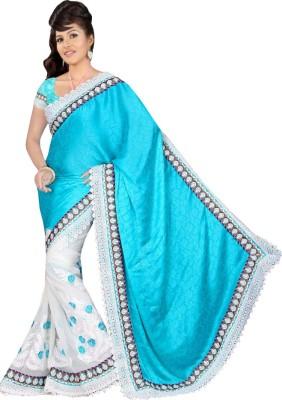 Cozee Shopping Self Design Fashion Chiffon Sari