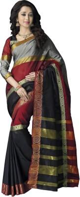 Signature Fashion Striped Fashion Cotton Sari