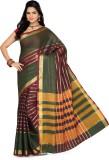 Ishin Printed Fashion Cotton Saree (Mult...