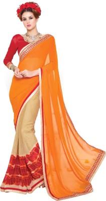 Sanshine Fashion Printed Fashion Georgette Sari