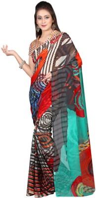 Aaditri Printed Daily Wear Georgette Sari
