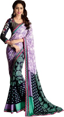Saara Printed Fashion Georgette Sari